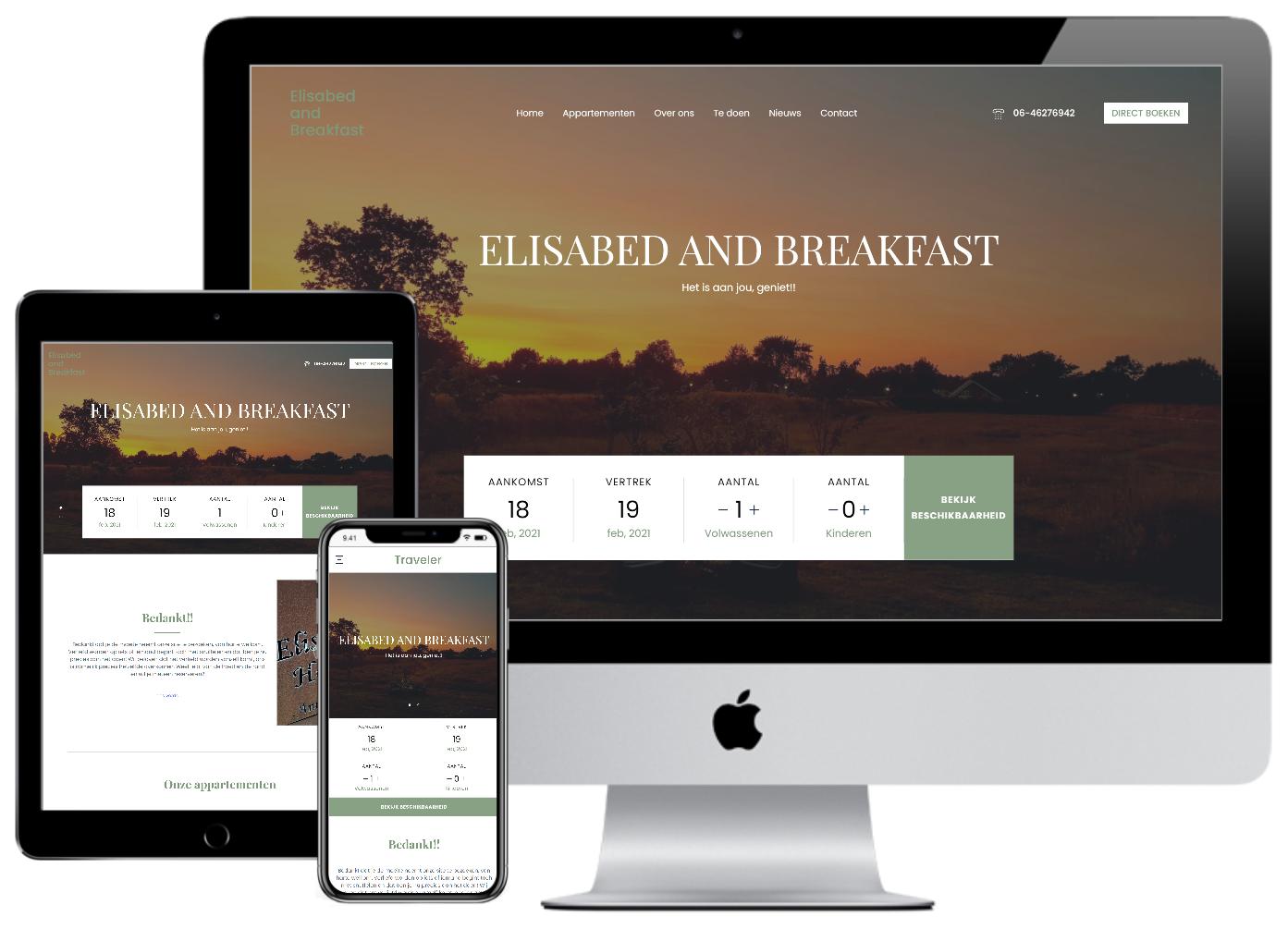 Onze website is online!